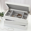 Lacquer Compartment Jewelry Tray