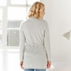 Lightweight Long Belted Cardigan