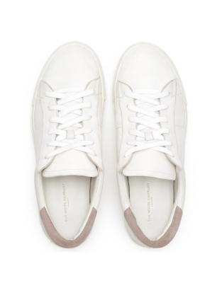 Leather Lace Up Sneakers