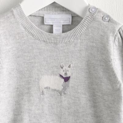 Corgi Motif Sweater