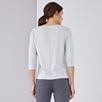 Linen Mix Sweat Top