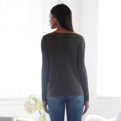 Linen Full Needle Sweater