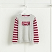London Bus Motif Sweater