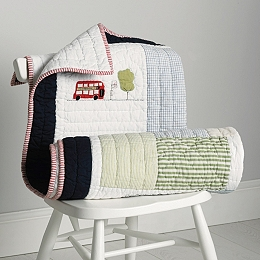 London Cot Bed Quilt