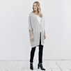 Long Single Button Cardigan