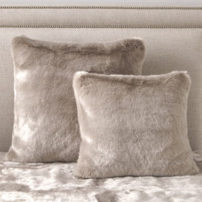 Supreme Faux Fur Cushion Cover - Mink