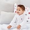 London Embroidered Sleepsuit