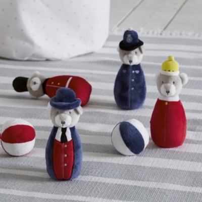 London Skittles Toy - Set of 4 - The White Company