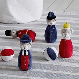 London Skittles Toy - Set of 4