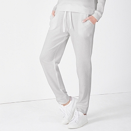 Contrast Waistband Loopback Jersey Joggers