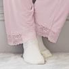 Semi Sheer Lace Pajama Set