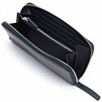 Leather Purse - Navy
