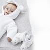 Lumi Polar Bear Baby Booties