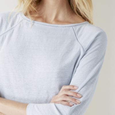 Linen Raglan T-shirt