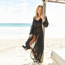 Silk Beach Cover Up