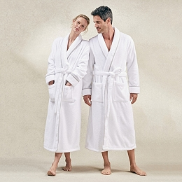 Unisex Hydrocotton Shawl Collar Robe