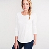 Long Sleeve Rib T-Shirt