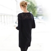 Lace Shoulder Knitted Tunic