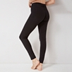 Cotton Blend Long Seam Detail Leggings
