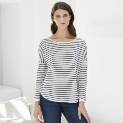 Linen Stripe Sweater