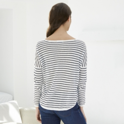 Linen Stripe Jumper