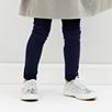 Girls' Leggings - Navy