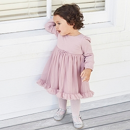 Long Sleeve Tutu Dress