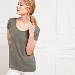 Linen T-Shirt - Sage