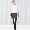 Lace T-shirt - Ivory