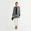 Longline Textured Boucle Jacket