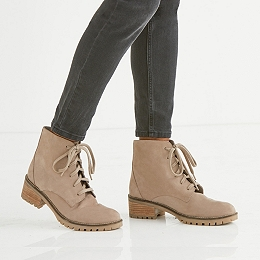 Weekend Lace-Up Boots