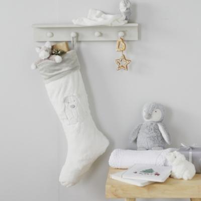 Lumi Polar Bear Christmas Stocking