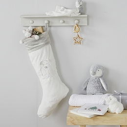 Lumi Polar Bear Christmas Stocking
