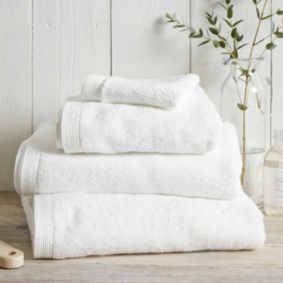Luxury Spa Towels   White. Towels   Home   Bath   The White Company US
