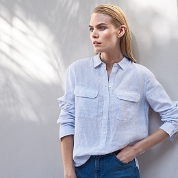 Linen Pocket Shirt