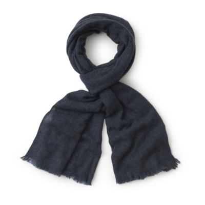 Cashmere Scarf - Denim Blue Marl