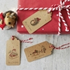 Woodland Creatures Gift Tags - Set of 12