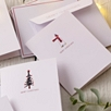 The Little White Company Merry Christmas Cards - Set of 8