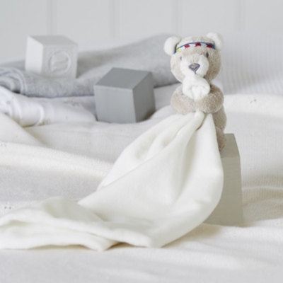 Little Warrior Bear Comforter