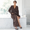 Luxury Hooded Velour Robe