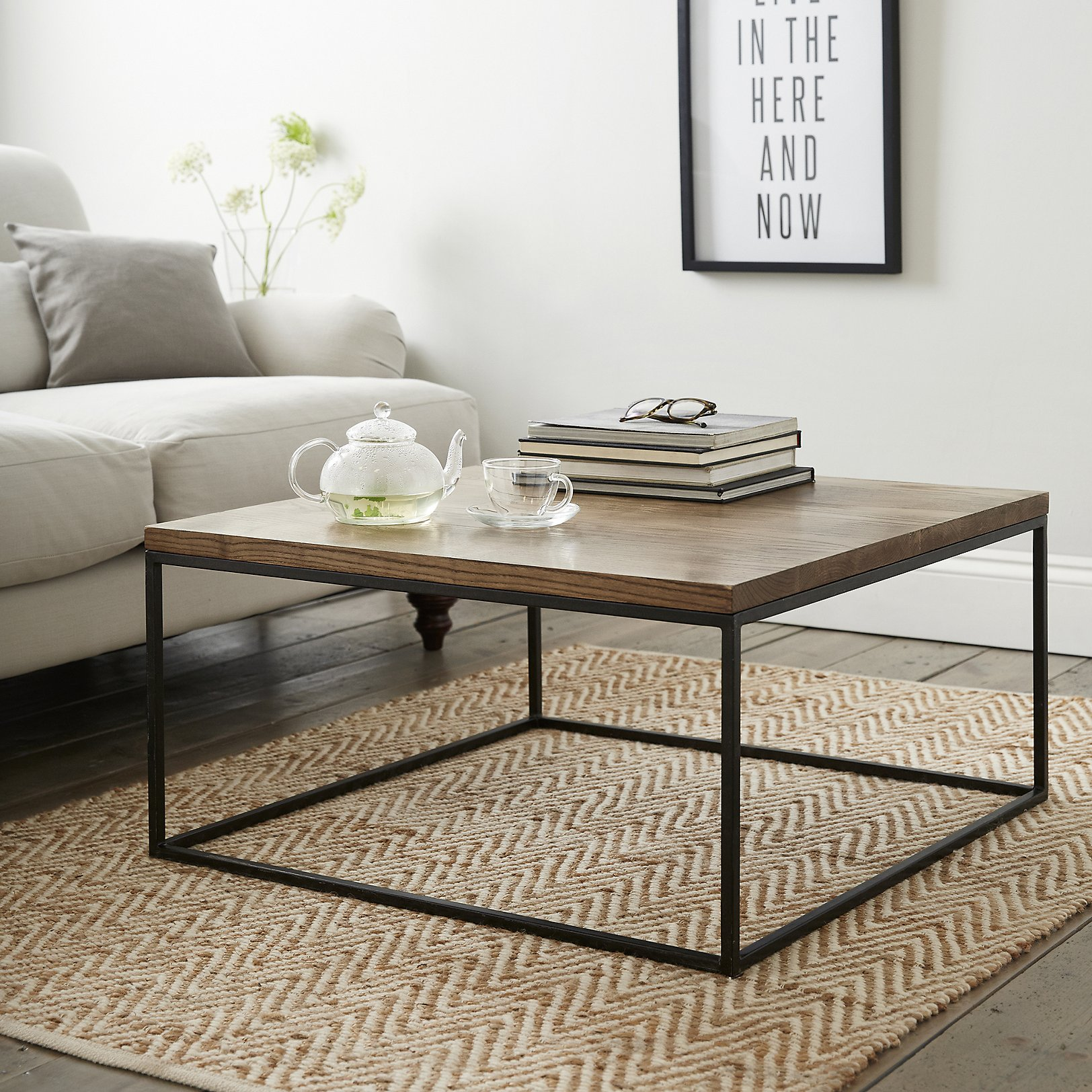 Malham coffee table tables the white company uk geotapseo Images