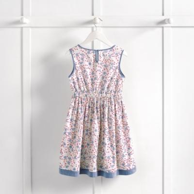 Maisie Chambray Trim Dress (4-10yrs)