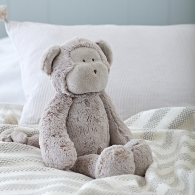 Marcelle Monkey Toy - The White Company