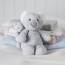 Mummy & Baby Koala Bear Family