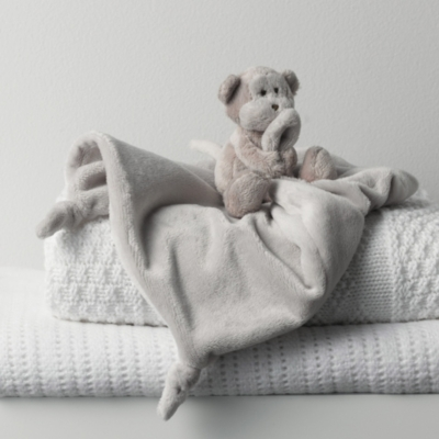 Marcelle Monkey Comforter - The White Company