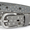 Multi Stud Suede Belt