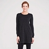 Merino Swing Tunic - Dark Charcoal Marl