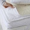 Natural Topped Fiber Bed King