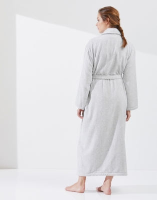 Unisex Shawl Collar Towelling Robe