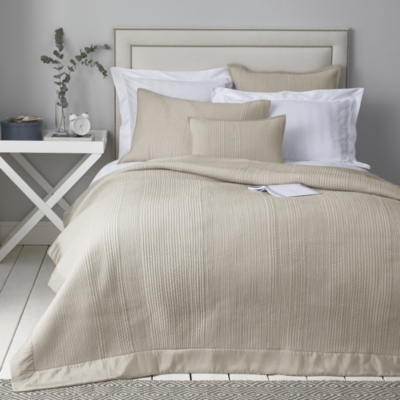 Milford Quilt - Silver Gray